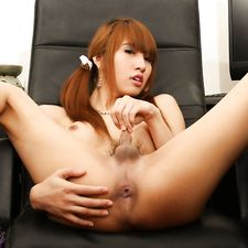 Exotic ladyboy Vee strips and plays