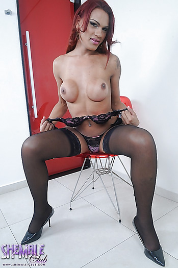 from Mark hung transsexual stockings