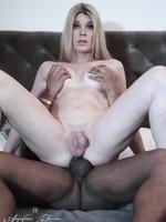 Angelina takes a big black dick