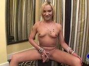 Mature shemale shows off her hung cock for you