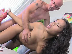 Nody Nadia sucked and fucked