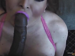 Massive black cock fucks the living shit out of Wendy