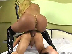 Jessica Ketlen is a blonde mega cock hot tranny