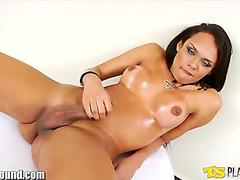 Latin beauty Camila solo masturbation