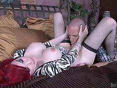 Sarina Valentina rides a hard cock and loves it