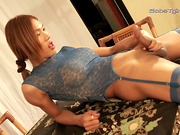 Big dick ladyboy Fish masturbating
