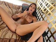 Gorgeous Jonelle gets rock hard