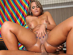 Big booty Bianca Petrovicky loves having her fat ass fucked