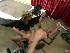 Jason gets fucked by sexy Morgan Bailey