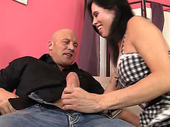 Christian sucks and fucks horny mature tgirl