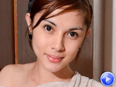 Porcelain doll ladyboy from Manila