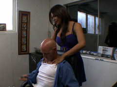 Shemale secretary fucked by her boss