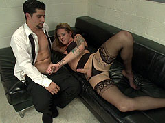 Morgan Bailey seduces horny man