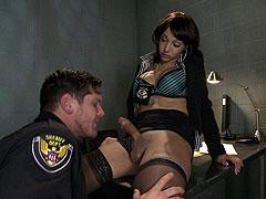 Sexy Sunshine Monroe fucks horny hunk